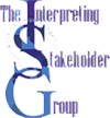 We are a member of The Interpreting Stakeholder Group.
